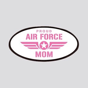 Proud Air Force Mom W [pink] Patches